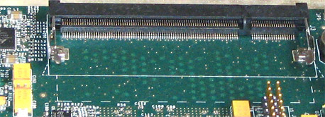 SORDIMM Socket on PCB